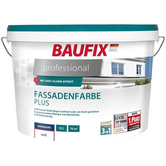 Baufix Fassadenfarbe »professional«, 10 Liter, weiß