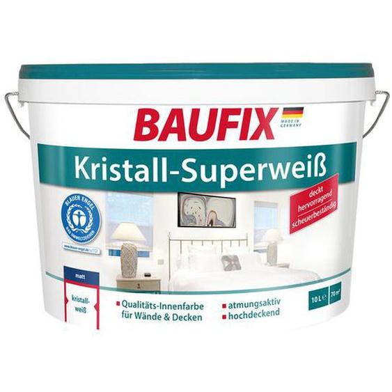 BAUFIX  Kristall-Superweiß, 10 Liter