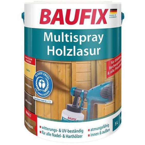 BAUFIX Multispray-Holzlasur, 5 Liter