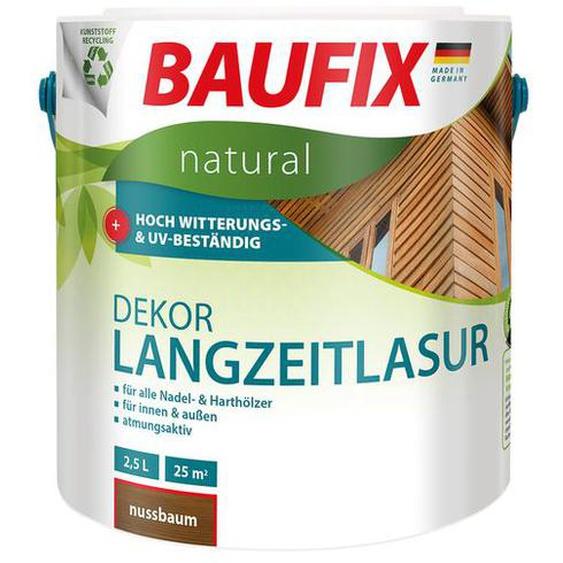 BAUFIX natural Dekor-Langzeitlasur, 2,5 Liter