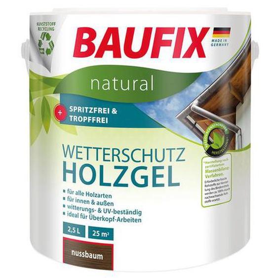 BAUFIX natural Wetterschutz-Holzgel, 2,5 Liter