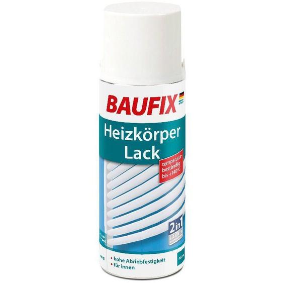 Baufix Sprühlack, 0,4 Liter, weiß