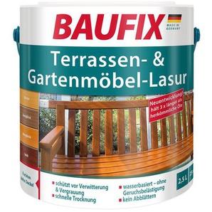BAUFIX Terrassen- und Gartenmöbel-Lasur, 2,5 Liter