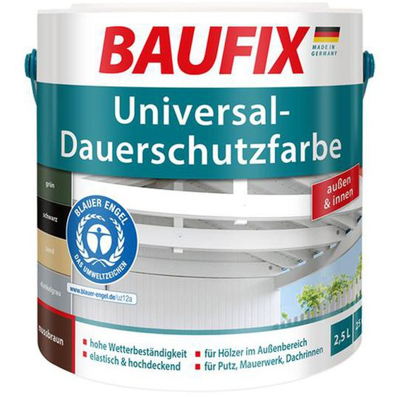 BAUFIX Universal-Dauerschutzfarbe 2,5 Liter