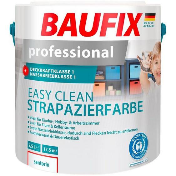 Baufix Wand- und Deckenfarbe »professional Easy Clean«, 2,5 Liter, weiß