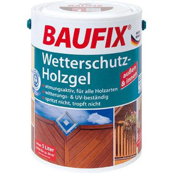 Baufix Wetterschutz-Holzgel Eiche Hell 5 Liter