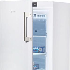 BAUKNECHT Gefrierschrank GKN 14G3 A2+ WS, 142,0 cm hoch, 59,5 cm breit, Energieeffizienz: A++, weiß, Energieeffizienzklasse: A++