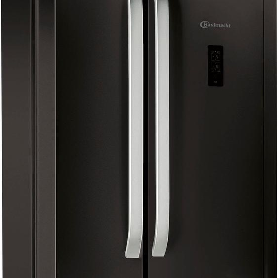 BAUKNECHT Kühl-/Gefrierkombination KSN 19 F (A bis G) Einheitsgröße schwarz Kühlschränke SOFORT LIEFERBARE Haushaltsgeräte