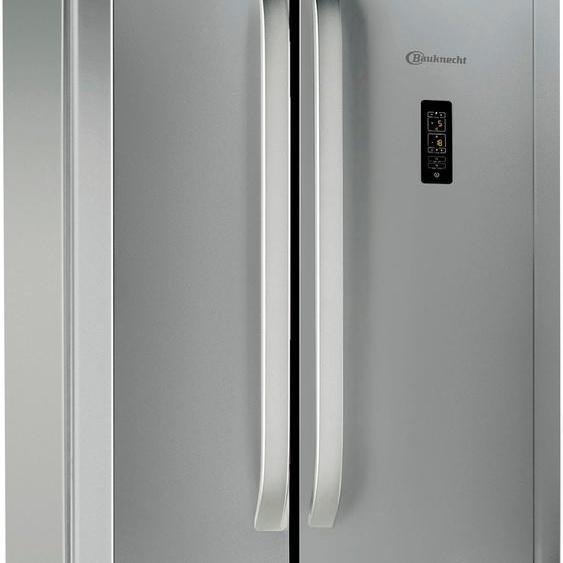 BAUKNECHT Kühl-/Gefrierkombination KSN 19 F (A bis G) Einheitsgröße silberfarben Kühlschränke SOFORT LIEFERBARE Haushaltsgeräte