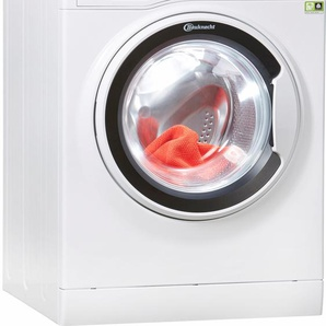 BAUKNECHT Waschmaschine WA Soft 8F41, weiß, Energieeffizienzklasse: A+++