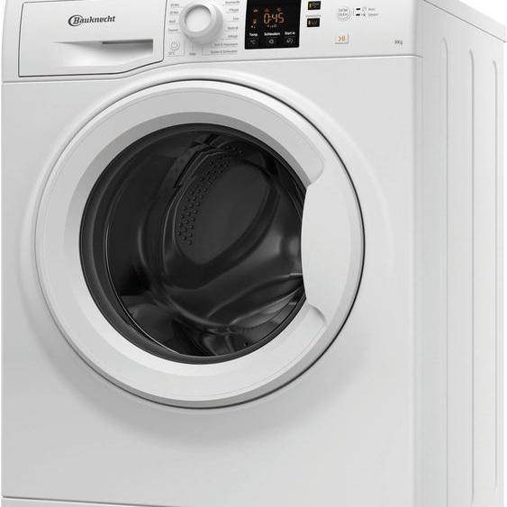 BAUKNECHT Waschmaschine WWA 843, 8 kg, 1400 U/min, Energieeffizienz: D