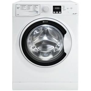 Bauknecht Waschvollautomat  WA SOFT 8F42PS - weiß - Glas , Kunststoff, Metall-lackiert - 59,5 cm - 85 cm - 60,5 cm   Möbel Kraft