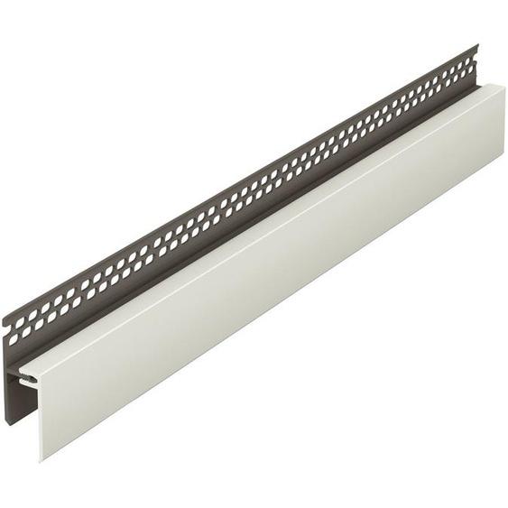 Baukulit VOX Verbindungsprofil »Oberes Lüftungsprofil« (Set, 2-St), für Solid Fassadenelement