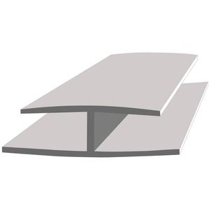 Baukulit VOX Verbindungsprofil »Fine-Line B3« (Set, 2-St., 2er-Set), 260 cm