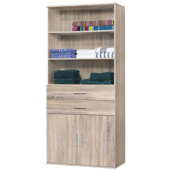 Bücherschrank in Eiche Sonoma 80 cm