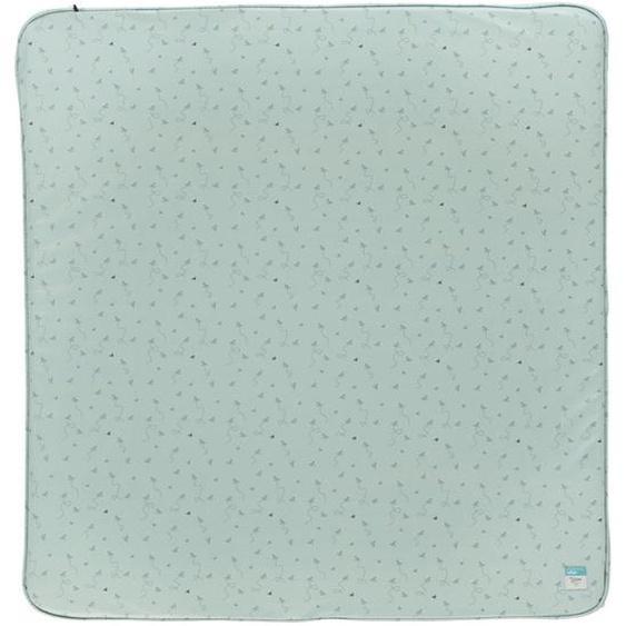 Bebe Jou Wickelauflage Fabulous , Schwarz, Pastellgrün , Kunststoff , 74x9x77 cm