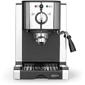 Beem Perfect Esspreso-Siebträgermaschine 20 bar 1450W silber/schwarz
