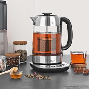 BEEM-Tee-und-Wasser-Kocher mit 1 - transparent - Edelstahl -