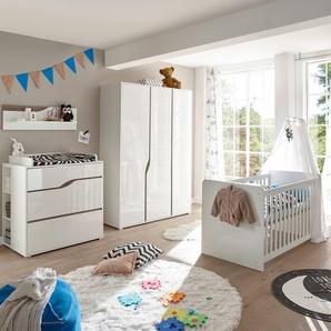 BEGABINO Babyzimmer-Set, Weiß
