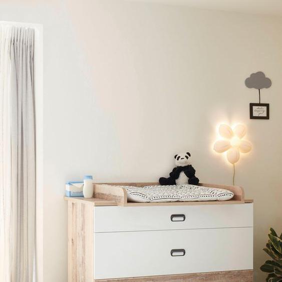 Begabino Wickelkommode Ronny, bis 11 kg, umbaufähig zur Kommode, 120 cm B/H/T: x 106 78 beige Baby Wickelkommoden wickeln