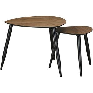 Beistelltisch, 2er-Set  Bamboo ¦ holzfarben ¦ Maße (cm): B: 59 H: 47,5 Tische  Beistelltische  Beistelltische ohne Rollen - Höffner