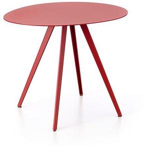 Beistelltisch Agorà Segis rot, Designer Cisotti & Laube, 40x49.5x43 cm