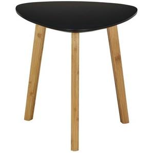 Beistelltisch  Bamboo ¦ schwarz ¦ Maße (cm): B: 40 H: 40 Tische  Beistelltische  Beistelltische ohne Rollen - Höffner