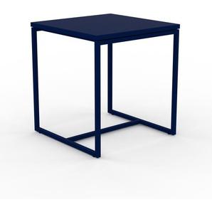 Beistelltisch Nachtblau - Eleganter Nachttisch: Hochwertige Materialien, einzigartiges Design - 42 x 46 x 42 cm, Komplett anpassbar