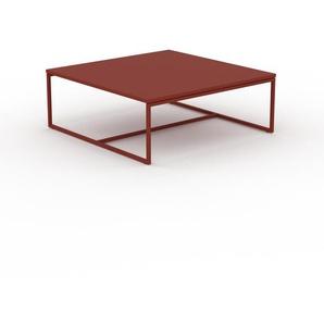 Beistelltisch Burgundrot - Eleganter Nachttisch: Hochwertige Materialien, einzigartiges Design - 81 x 31 x 81 cm, Komplett anpassbar