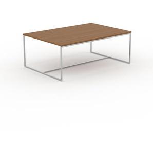 Beistelltisch Eiche - Eleganter Nachttisch: Hochwertige Materialien, einzigartiges Design - 121 x 46 x 81 cm, Komplett anpassbar