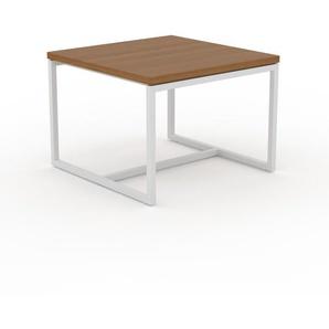Beistelltisch Eiche - Eleganter Nachttisch: Hochwertige Materialien, einzigartiges Design - 42 x 31 x 42 cm, Komplett anpassbar