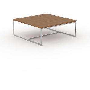Beistelltisch Eiche - Eleganter Nachttisch: Hochwertige Materialien, einzigartiges Design - 81 x 31 x 81 cm, Komplett anpassbar