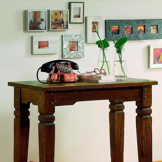 Beistelltisch, FSC®-zertifiziert, braun, Material Massivholz »Samba«, SIT-Möbel