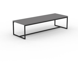 Beistelltisch Grau - Eleganter Nachttisch: Hochwertige Materialien, einzigartiges Design - 121 x 31 x 42 cm, Komplett anpassbar