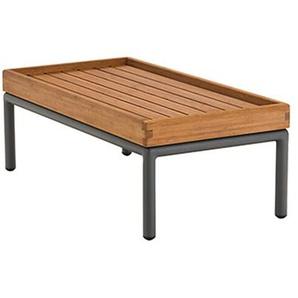 Beistelltisch Level Houe grau, Designer Henrik Pedersen, 29x40.5x81 cm