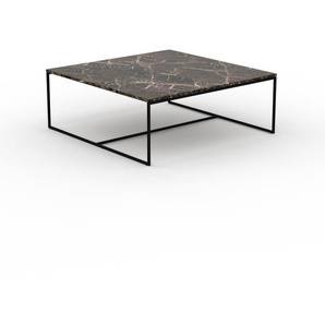Beistelltisch brauner Emperador, Marmor - Eleganter Nachttisch: Hochwertige Materialien, einzigartiges Design - 121 x 47 x 121 cm, Komplett anpassbar
