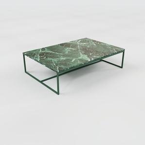 Beistelltisch Marmor, Grüner Guatemala - Eleganter Nachttisch: Hochwertige Materialien, einzigartiges Design - 121 x 31 x 81 cm, Komplett anpassbar