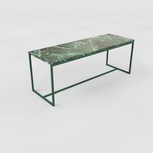 Beistelltisch Marmor, Grüner Guatemala - Eleganter Nachttisch: Hochwertige Materialien, einzigartiges Design - 121 x 46 x 42 cm, Komplett anpassbar