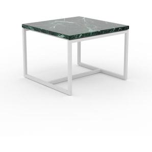 Beistelltisch Marmor, Grüner Guatemala - Eleganter Nachttisch: Hochwertige Materialien, einzigartiges Design - 42 x 31 x 42 cm, Komplett anpassbar
