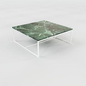 Beistelltisch grüner Guatemala, Marmor - Eleganter Nachttisch: Hochwertige Materialien, einzigartiges Design - 81 x 32 x 81 cm, Komplett anpassbar