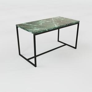 Beistelltisch Marmor, Grüner Guatemala - Eleganter Nachttisch: Hochwertige Materialien, einzigartiges Design - 81 x 46 x 42 cm, Komplett anpassbar
