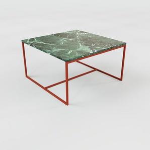 Beistelltisch Marmor, Grüner Guatemala - Eleganter Nachttisch: Hochwertige Materialien, einzigartiges Design - 81 x 46 x 81 cm, Komplett anpassbar