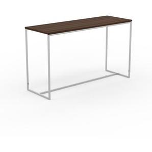 Beistelltisch Nussbaum - Eleganter Nachttisch: Hochwertige Materialien, einzigartiges Design - 121 x 71 x 42 cm, Komplett anpassbar