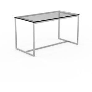 Beistelltisch Rauchglas Schwarz klar - Eleganter Nachttisch: Hochwertige Materialien, einzigartiges Design - 81 x 45 x 42 cm, Komplett anpassbar