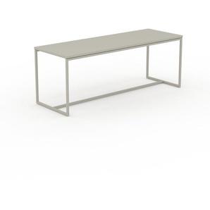 Beistelltisch Sandgrau - Eleganter Nachttisch: Hochwertige Materialien, einzigartiges Design - 121 x 46 x 42 cm, Komplett anpassbar