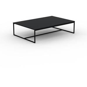 Beistelltisch Schwarz - Eleganter Nachttisch: Hochwertige Materialien, einzigartiges Design - 121 x 31 x 81 cm, Komplett anpassbar