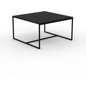 Beistelltisch Schwarz - Eleganter Nachttisch: Hochwertige Materialien, einzigartiges Design - 81 x 46 x 81 cm, Komplett anpassbar