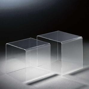 Beistelltisch Set aus Acrylglas online kaufen (2-teilig)