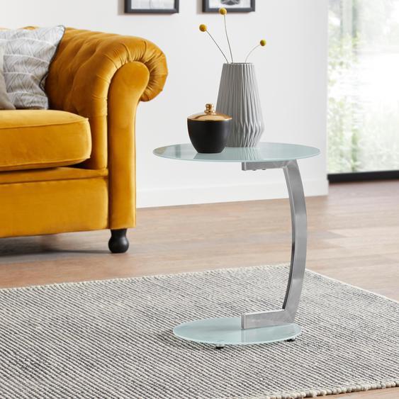Beistelltisch B/H/T: 45 cm x 52 weiß Beistelltische Tische