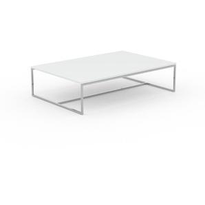 Beistelltisch Weiß - Eleganter Nachttisch: Hochwertige Materialien, einzigartiges Design - 121 x 31 x 81 cm, Komplett anpassbar